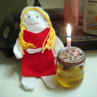 Candle Spell and Poppet for a Young Adult to Move Out and Move On