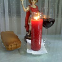 Free Candle Spells | St. Expedite Candle/Offering for Blessings Received