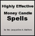 New Book! | Highly Effective Money Candle Spells by Rev. Jacqueline